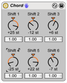 Cheat Sheet for Ableton Live's Chord MIDI Effect (Free Download)