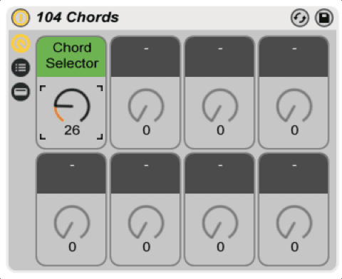 104 Chords - Complex Chord Progressions with One Knob (Free Download)